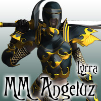 MatchMaker: Angeluz Fantasy Armor 3D Figure Essentials 3D Models Lyrra