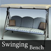 Swinging Bench 3D Models TruForm