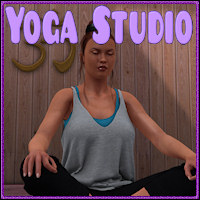 Yoga Studio 3D Models 3D Figure Essentials WhimsySmiles