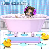 Bubbles Bath Props/Scenes/Architecture teknology3d