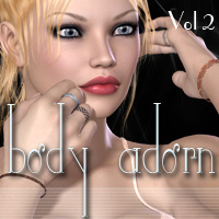 Body Adorn Vol2 3D Figure Essentials PandyGirl