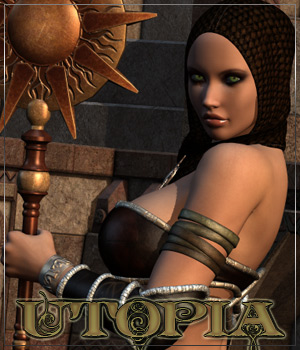 UTOPIA for Priestess of the Sun 3D Figure Essentials Anagord