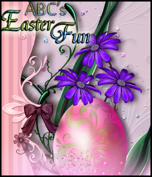 ABC Easter Fun 3D Models 2D Graphics Bez