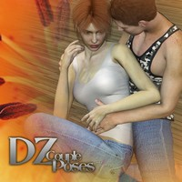 DZ Couple Poses Set 8 by dzheng
