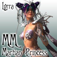 MatchMaker: Martian Princess Themed Clothing Lyrra