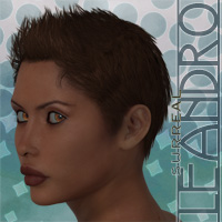Surreal Leandro 3D Figure Assets surreality