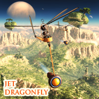Jet Dragonfly Transportation Themed 1971s