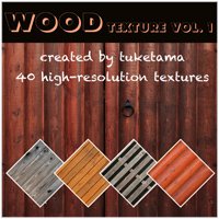 Wood texture vol.1 2D Graphics tuketama