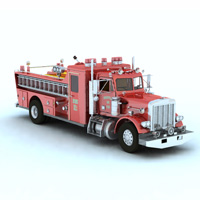 Firefight Truck (for Vue)  Digimation_ModelBank