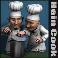 Hein Cook 3D Figure Essentials 3D Models Nursoda