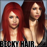 Becky Hair 3D Figure Essentials outoftouch