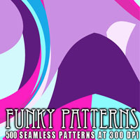 Funky Patterns 2D Graphics designfera