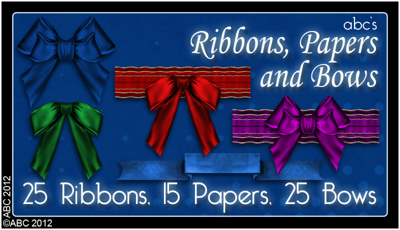 ABC Ribbons, Papers 'n' Bows