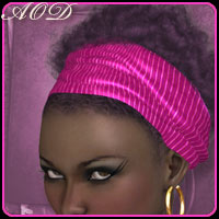 COLORation Afro Magic Styles 1 3D Figure Essentials ArtOfDreams
