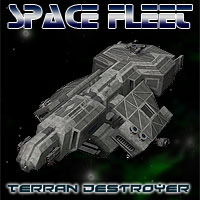 Space Ship Terran Destroyer Themed Props/Scenes/Architecture Simon-3D
