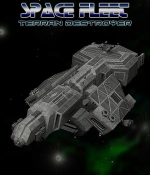 Space Ship Terran Destroyer