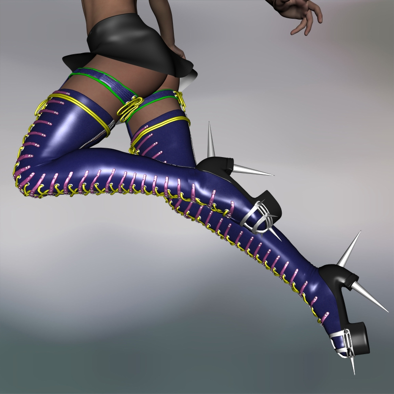 Hot Assassina Boots