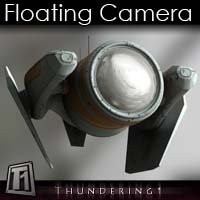 Floating Camera 3D Models thundering1