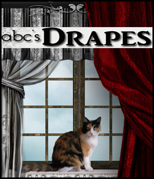 ABC Drapes 3D Models 2D Graphics Bez