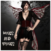 Wings and Things Vol.1 3D Figure Essentials 3D Models Propschick