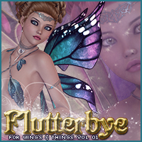 Flutterbye for Wings & Things Vol 1 3D Figure Assets Sveva