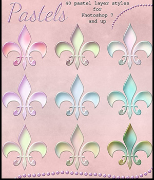 Pastel Styles 2D Graphics antje