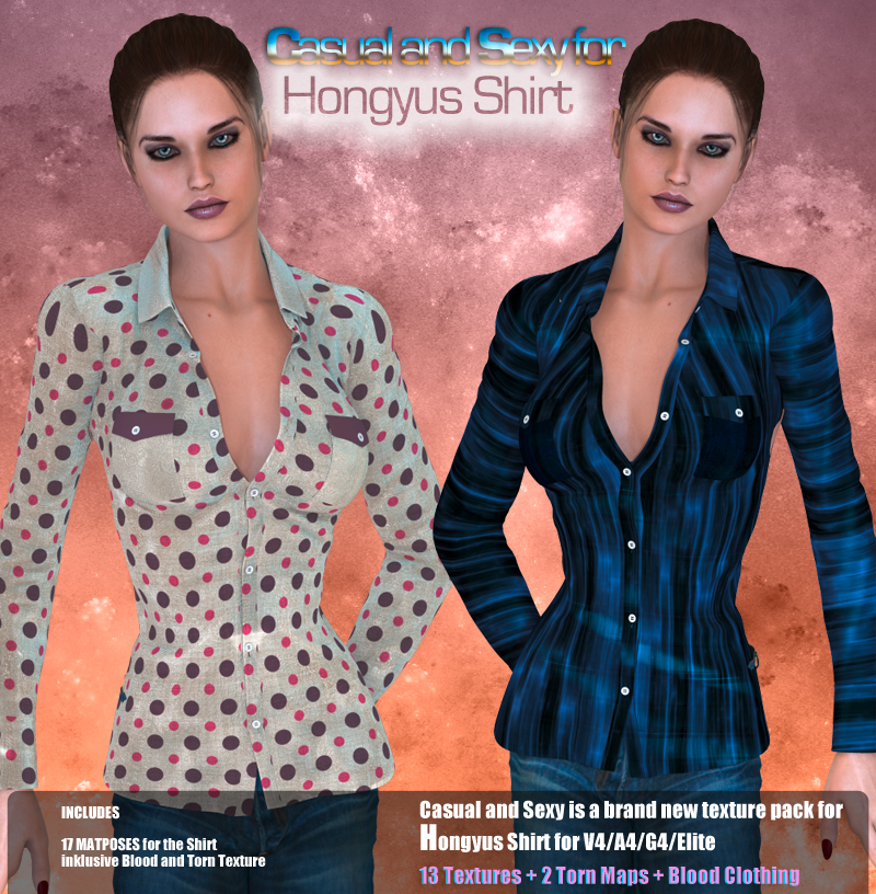 CASUAL AND SEXY FOR HONGYUS SHIRT
