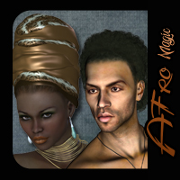 Afro Magic 2 Software Hair SWAM