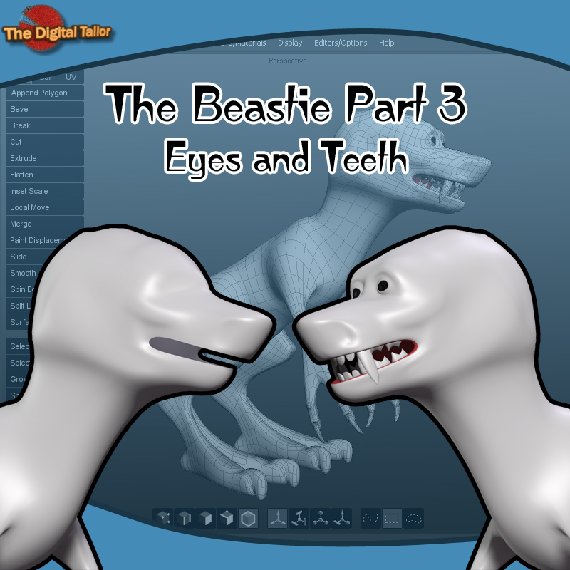 The Beastie Part 3 - Eyes and Teeth