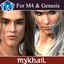 EA Mykhail For M4 And Genesis 3D Figure Assets EmmaAndJordi