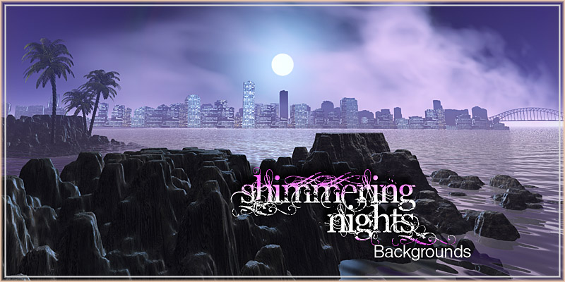 Shimmering Nights Backgrounds