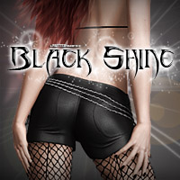 Black Shine 3D Models 3D Figure Assets Pretty3D