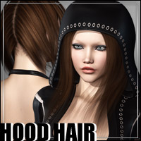 Hood Hair 3D Figure Essentials outoftouch