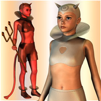 The Imp for The PreTeen 3D Figure Essentials Oskarsson