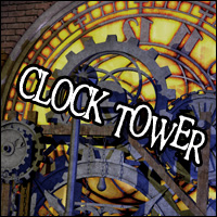Steampunk Clock Tower 3D Models Sveva