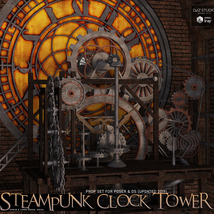 Steampunk Clock Tower image 1