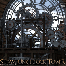 Steampunk Clock Tower image 2