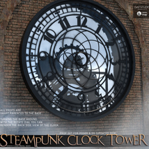 Steampunk Clock Tower image 3
