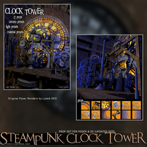 Steampunk Clock Tower image 4