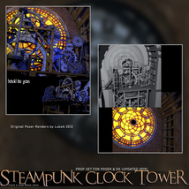 Steampunk Clock Tower image 5