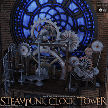 Steampunk Clock Tower image 6