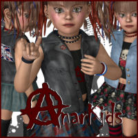 AnarKids Themed Clothing JudibugDesigns
