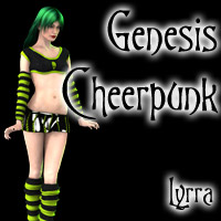 Genesis Cheerpunk 3D Figure Essentials 3D Models Lyrra