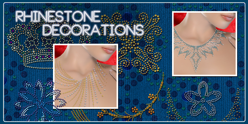 Rhinestone Decorations