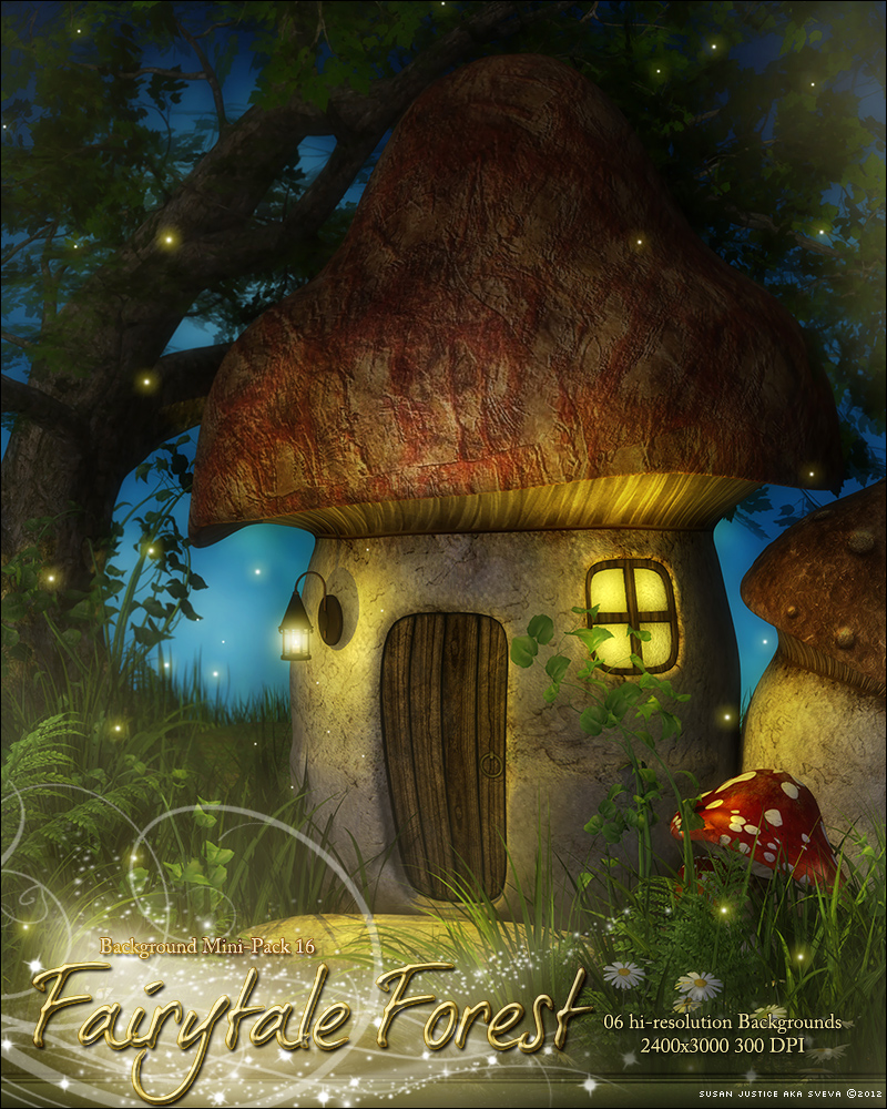 Background Mini-Pack 16: Fairytale Forest
