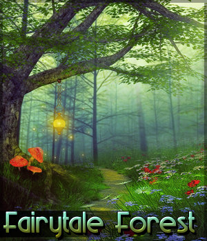 Fairytale Forest Background Mini Pack 2D Graphics Sveva