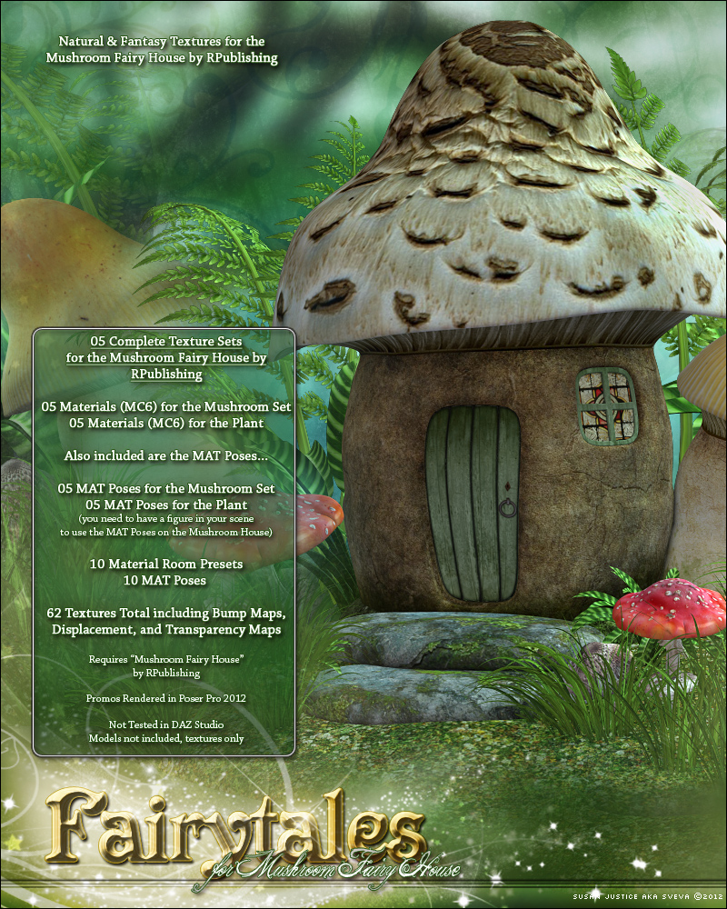 Fairytales for Mushroom Fairy House