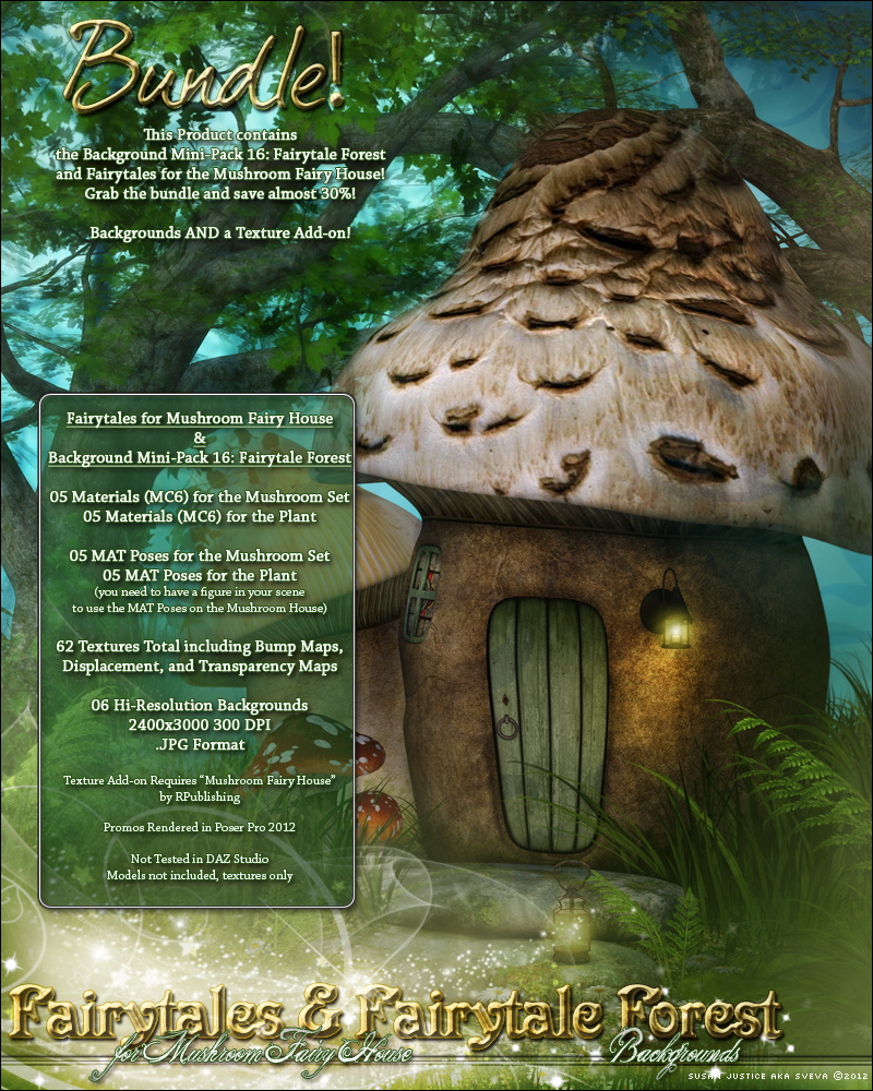 Fairytales for Mushroom House & Fairytale Forest Bundle