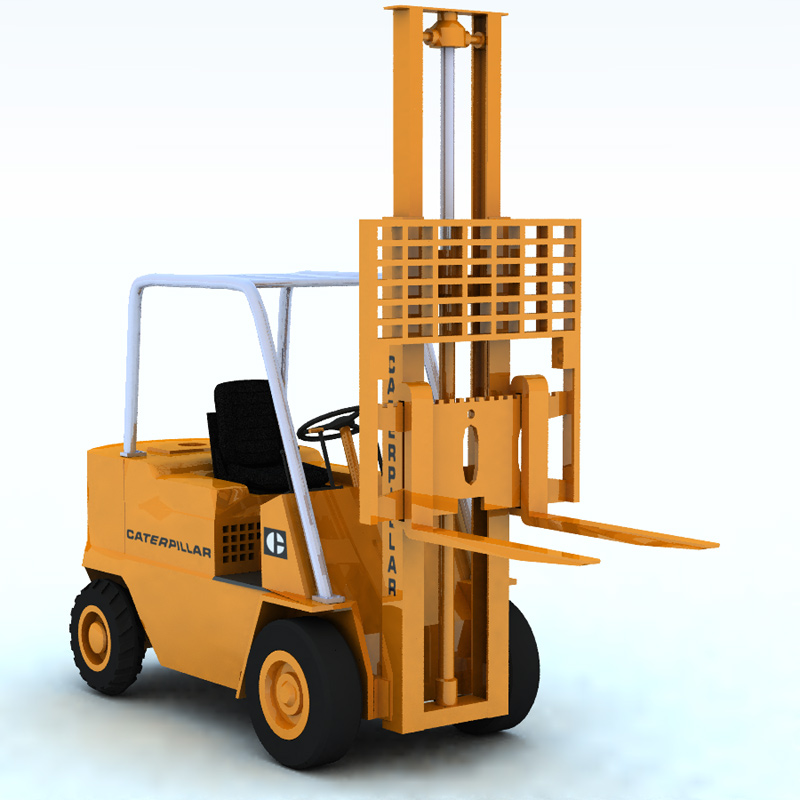 Elevator Truck Caterpillar (for Vue)