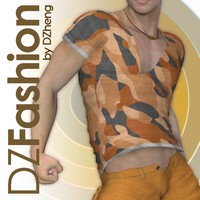 DZ Fashion Set 4 for M4H4Guy4 3D Figure Essentials dzheng